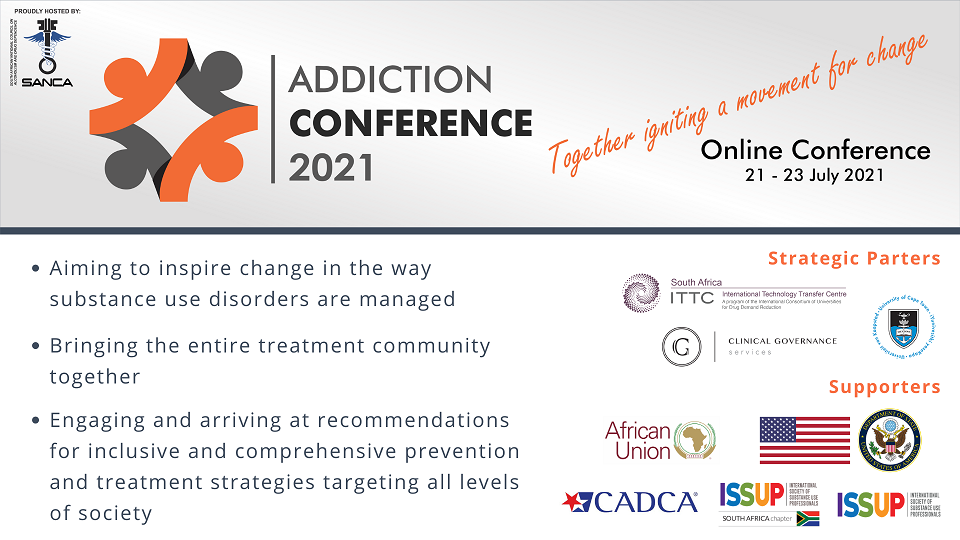 Addiction Conference 2021 - Together igniting a movement for change